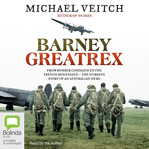 Barney Greatrex Audiobook By Michael Veitch cover art