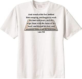 BibleShirts Luke 7:38 Short Sleeve T-Shirt