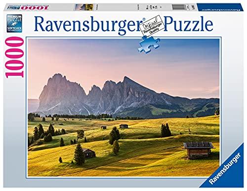Ravensburger Puzzle 1000 Teile - Seiser Alm, Dolomiten, Südtirol - Puzzle für Erwachsene und Kinder ab 14 Jahren, Amazon Sonderedition [Exklusiv bei Amazon]