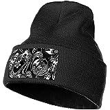 Quintion Robeson Totto japonés Hombres y Mujeres Gorro de Tejer de acrílico Sombrero Cráneo Gorro Personalizado
