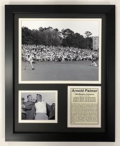 Legends Never Die PGA Arnold Palmer 1964 Masters Champion Framed Double Matted Photos 12 x 15 product image