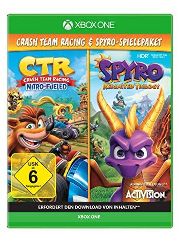 Spyro Reignited Trilogy + Crash Team Racing Nitro Fueled Bundle - [Xbox One]