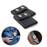 Seatbelt Adjuster,Comfort Auto Shoulder Neck Strap Positioner Locking Clip Protector,Universal Vehicle Car Seat Belt Safety Covers (2 Pack, Black)
