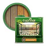 Cuprinol 5211844 Total Deck Exterior Woodcare, Clear, 2.5 l