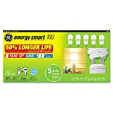 GE Compact Fluorescent Bulb, 26 Watt, T3 Spiral, Soft White (100)