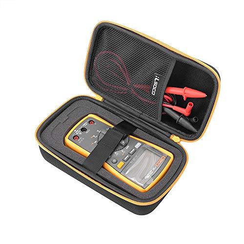 """RLSOCO ケース  Crenovaデジタルマルチメーター、FLUKE (フルーク) 117/116/115/114/107/17B+/233  AstroAI、POWSEED 、OHM(オーム電機)、Neoteck 、URXTRAL デジタルマルチメーターケース  COMET アンテナアナライザー CAA-500 MarkⅡ、BOSCH(ボッシュ) レーザー距離計 Quimat 2.4""""TFT デジタル オシロスコープ URCERI 照度計 光度計  Cozyswanデジタル風速計対応 黄色いジッパー"""