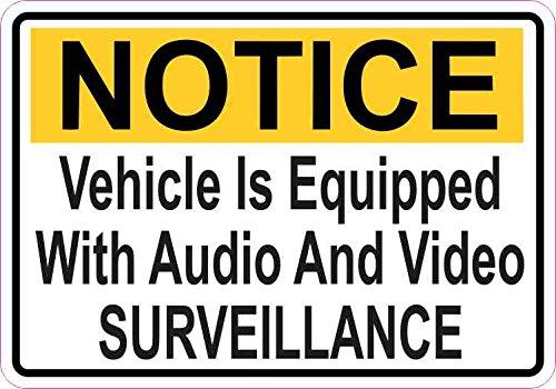 StickerTalk Notice Vehicle Is Eq...