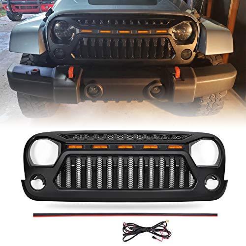 07 jeep wrangler grills - 5