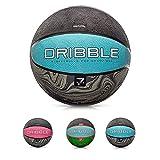 Balón Baloncesto Pelota Basketball Bebe Ball Infantil Niño Adultos Jóvenes Balon Basquet - Baloncesto Ideal para los niños y jouvenes y Adultos para Entrenar y Jugar - Tamaño 7 (7, Dribble Blue)