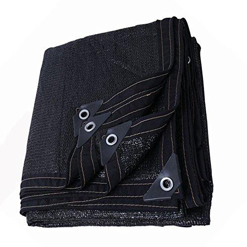 HUO Sun Net Sunblock Shade Tissu 90% Résistant Aux UV Mesh Noir (Couleur : Black, Taille : 5 * 5m)