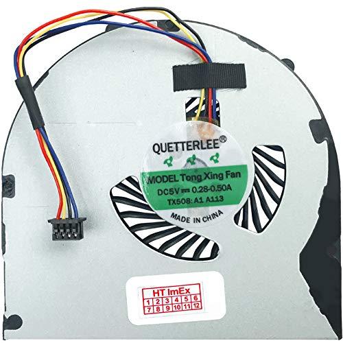 (Versión 2) ventilador/ventilador compatible con Lenovo B480, B480A, B590 (15,6 pulgadas), B490, M495, B590, E49 GE