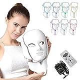 NBD® 7 Couleur LED Masque luminothérapie LED Masque Photon avec Cou,...