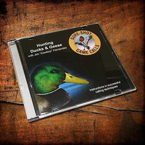 Sure-Shot Game Calls Duck and Goose Hunting CD