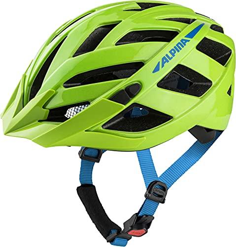 ALPINA Unisex - Erwachsene, PANOMA 2.0 Fahrradhelm, green-blue gloss, 52-57 cm