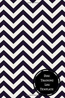 dog training log template