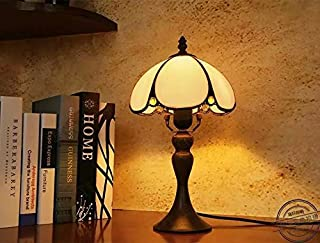 TOYM UK- Tiffany European minimalist bedroom bedside lamp warm retro art glass bending table lamp creative gifts to give as gifts