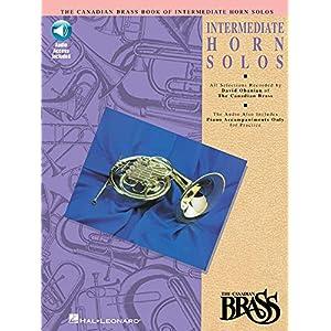 Canadian Brass Book of Intermediate Horn Solos: Book/CD Pack