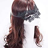 CVG 1PC Black Sexy Lady Lace Mask Eye Mask for Masquerade Party Fancy Dress Costume/Halloween Party Fancy