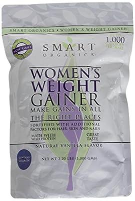 Bio Nutrition Smart Organics Women's Weight Gainer, 1000 Gram