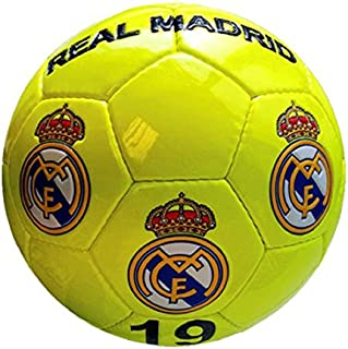 05ee3d6d535f8 Real Madrid Grand Ballon De Foot Jaune Fluo