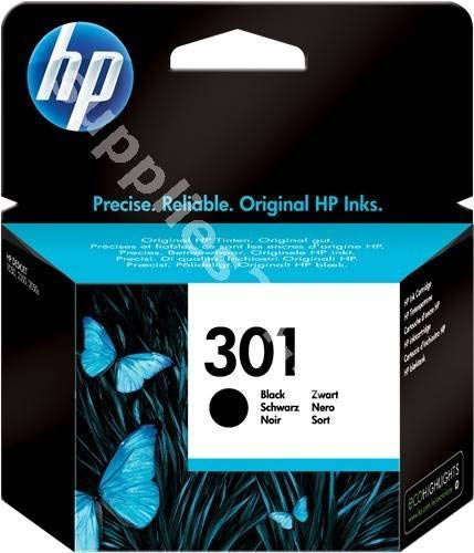 Cartucho negro compatible con HP301BK CH561EE para Deskjet F2050 1510 3050 3050A 1050 2050A Officejet 2620 4630