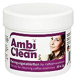 AmbiClean Reinigungstabletten für Kaffeevollautomat und Kaffemaschine | für Privat, Büro und Gastronomie - 30 Tabletten je 2g