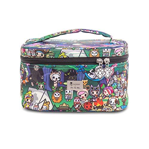 JuJuBe x Tokidoki Toiletry Bag, Be Ready | Travel Cosmetic Bag, Train Case for Men and Women, Beauty Organizer, Diaper Storage Bag | Camp Toki