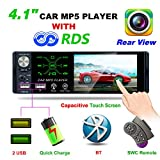 Autoradio Bluetooth MP5 Player, Hoidokly 4,1'' Pouces HD avec écran Tactile,...