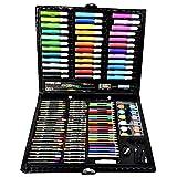 Piezas mecánicas Pluma de Color de Agua 150 Piezas Surtidas para Artistas Pintores Profesionales de Acuarela y Principiantes Set de Arte Regalos para niños (Color: Negro Tamaño: Tamaño Libre)