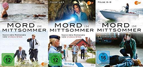 Mord im Mittsommer – alle Folgen - Teil 1 2 3 4 5 6 7 8 9 - 7 DVD Collection