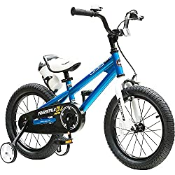 professional RoyalBaby Bicycle for Children Boys Girls BMX Freestyle Bike with Training Wheels Stand Giftsfor…
