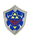 Gemelolandia | Parche Termoadhesivo Escudo de Zelda 9cm | Muy Adherentes | Patch Stickers Para Decorar Tu Ropa | Fáciles de Poner
