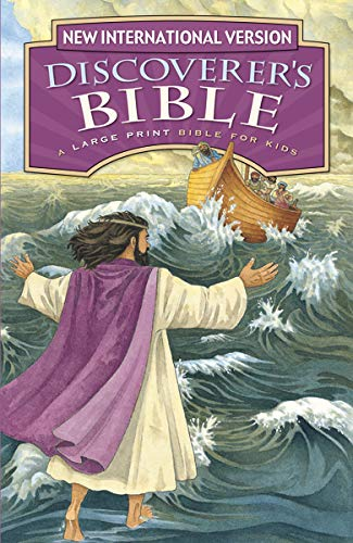 Compare Textbook Prices for NIV, Discoverer's Bible, Large Print, Hardcover Large type / Large print - Illustrated Edition ISBN 9780310764922 by Zondervan