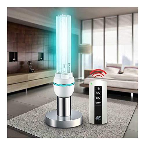 Desinfektion-Licht-Lampe E27 UVbirnen Sterilisation Lampe Tragbare UV-C LED Sanitizer Ohne Lampe mit vier Quarz-Schlauch-Antibakterielle Rate 100% Basis for Haushalts-Toilette Schlafzimmer 1216