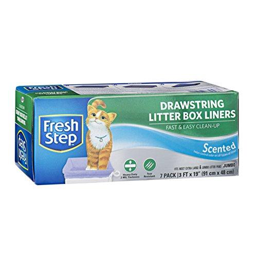 FRESH STEP DRAWSTRING LARGE LITTER BOX LINERS