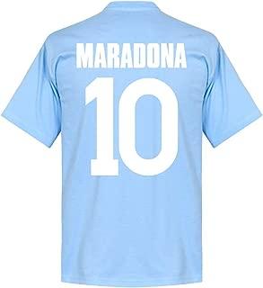 Napoli Maradona 10 Team Tee - Sky