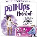 Pull-Ups New Leaf Girls' Training Pants, 2T-3T, 76 Ct