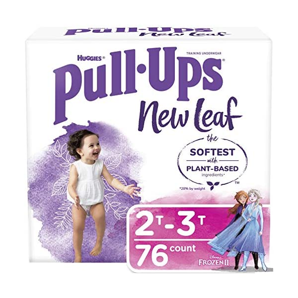 Pull-Ups New Leaf Girls' Training Pants, 4t-5t, 14 Ct, 14 Count