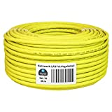 HB-Digital - Cable para instalación de red LAN cat. 7A AWG 23/1, de cobre, profesional, S/FTP, PIMF, LSZH, sin halógenos, cumple con la normativa RoHS, cable de datos Ethernet 10 Gbit y 1000 MHz