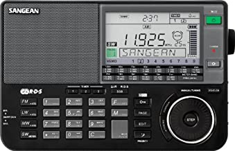 Sangean ATS-909X BK AM/FM/LW/SW World Band Receiver - Black