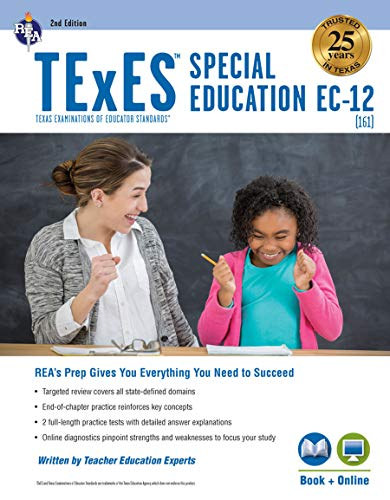 Compare Textbook Prices for TExES Special Education EC-12, 2nd Ed., Book + Online TExES Teacher Certification Test Prep Second Edition, Revised Edition ISBN 9780738612645 by Haney M.A., Jill L.,Wescott, James,Jaquess, Jamalyn