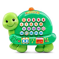 vtech count and learn turtle electronic learning toy toddler educational toy for 2 year old best educational toy