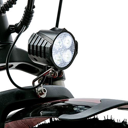 Cyrusher XF660-500W Mountain Bike Electric Bike 26 '' 4.0 Fat Tire Mountain Ebike 48V 13ah bike with Lithium-Ion Battery(Green)