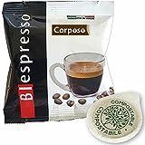 Biespresso 150 cápsulas de café filtro papel ESE 44 mm sabor corporal
