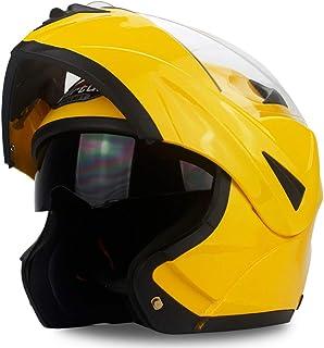 Motesen Revisión del casco de motocicleta modular para adultos Cascos de motocicleta Filp Up Cascos DOT para cascos de mot...