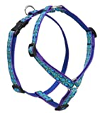 Non-restrictive design removes pressure from the throat area Goes on over the head; pick up left front paw; clip the girth 3/4 Inch wide, appropriate for the widest range of dogs, from Terriers to Sporting breeds Proudly built in Conway, New Hampshir...