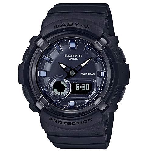 Casio Baby-G BGA-280-1AER - Reloj digital de resina con esfera negra con energía solar