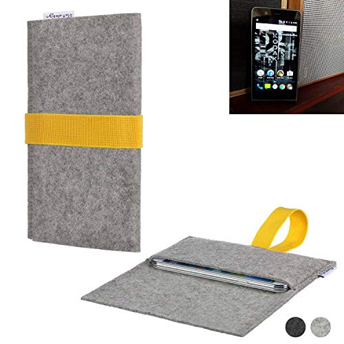 flat.design Handy Hülle Aveiro für Kodak Ektra handgefertigte Filz Tasche Case Sleeve fair