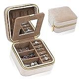 Best Travel Jewelry Cases - Small Jewelry Organizer Box Velvet Travel Jewelry Case Review