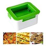 FEIDAjdzf Prensas de tofu, Escurridor de tofu de plástico, caja de drenaje de tofu, herramientas de cocina, elimina el agua del tofu para un mejor sabor y textura.